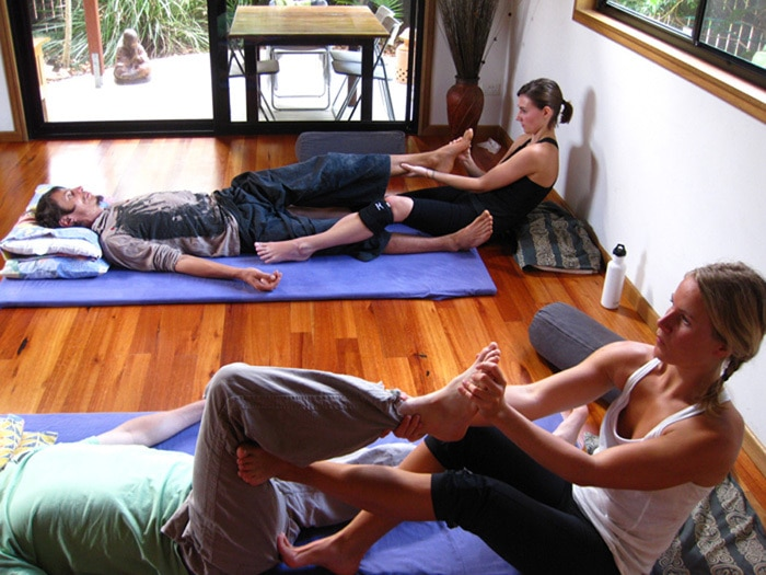 Thai Massage Basic Course Short Thai Massage training in Byron Bay Australia