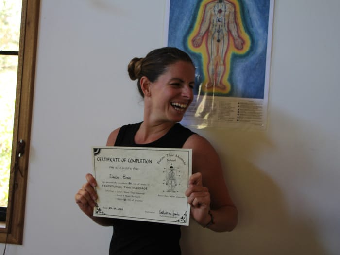 Thai massage training level 3 accreditation